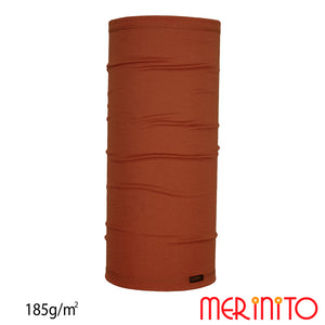 Neck tube lana merinos 185g