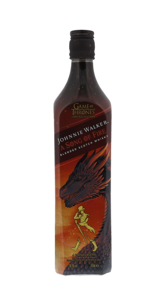 Johnnie Walker a Song of Fire Game of Thrones 70CL