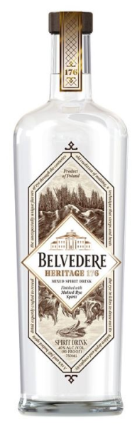 Belvedere vodka Heritage 70CL
