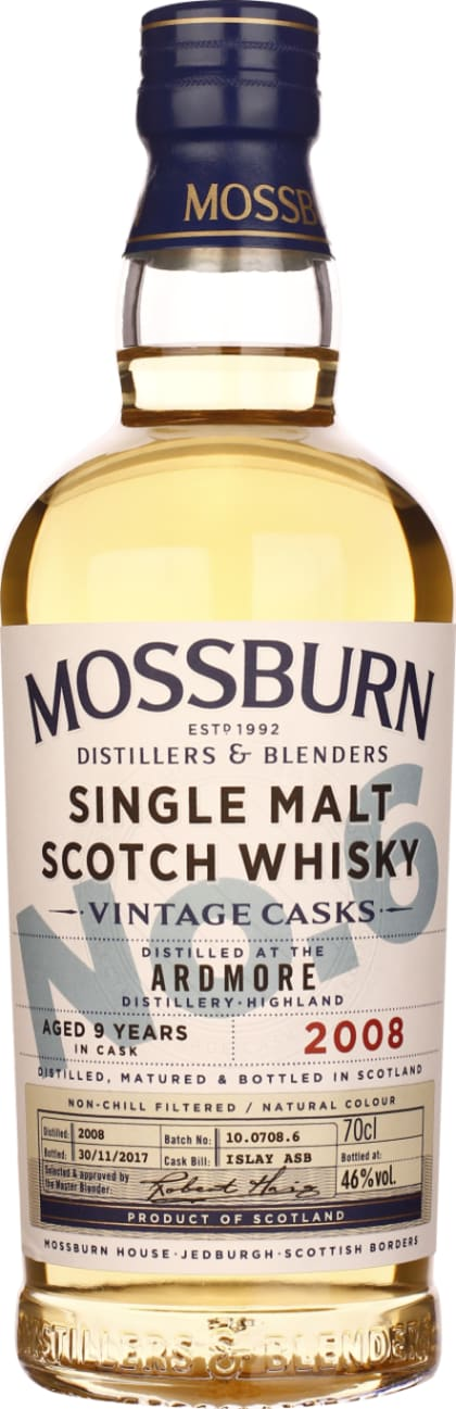 Mossburn No.6 9 years Ardmore Single Malt 70CL - Aristo Spirits