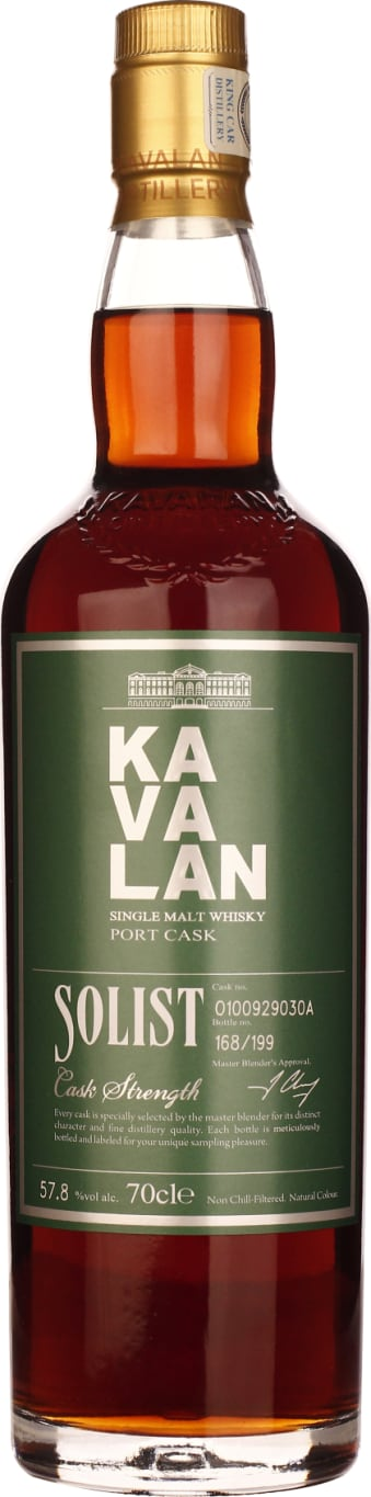 Kavalan Soloist Port Cask Strength Single 70CL - Aristo Spirits