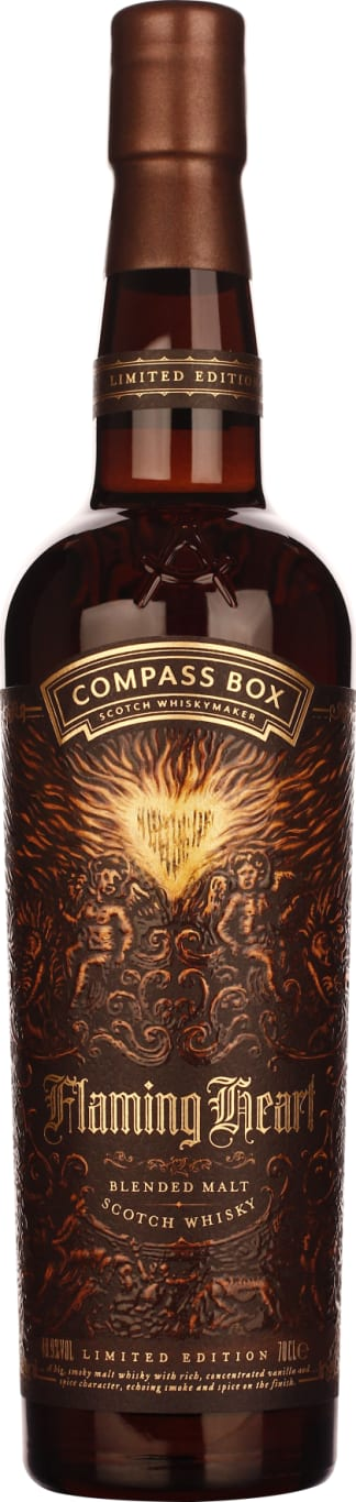 Compass Box Flaming Heart 70CL - Aristo Spirits