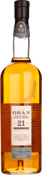 Oban 21 years Special Release 2018 70CL - Aristo Spirits