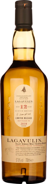 Lagavulin 12 years Cask Strength 2018 70CL - Aristo Spirits