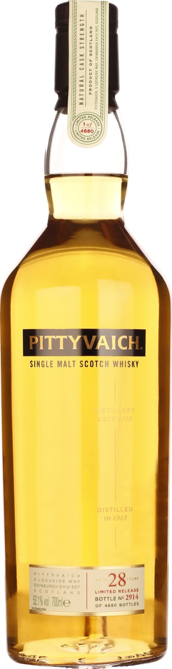 Pittyvaich 28 years Special Release 2018 70CL - Aristo Spirits