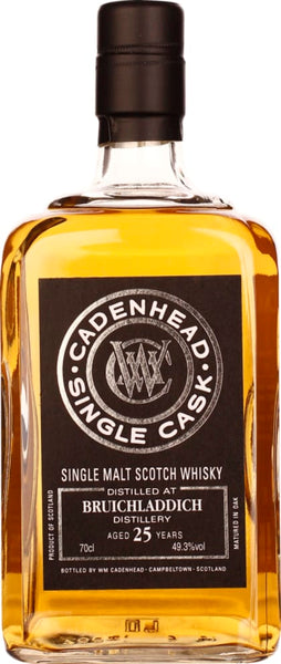Cadenhead Bruichladdich 25 years Single Malt 70CL - Aristo Spirits