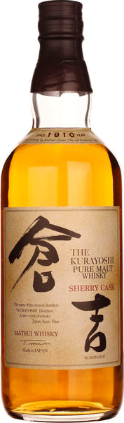 Kurayoshi Sherry Pure Malt 70CL - Aristo Spirits