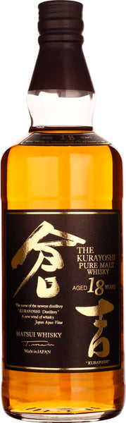 Kurayoshi 18 years Pure Malt 70CL - Aristo Spirits