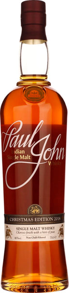 Paul John Christmas Edition Single Malt 70CL - Aristo Spirits