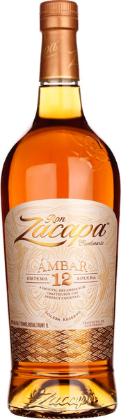 Zacapa Ambar 12 years 1LTR - Aristo Spirits