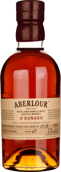 Aberlour A'Bunadh Batch 61 70CL - Aristo Spirits