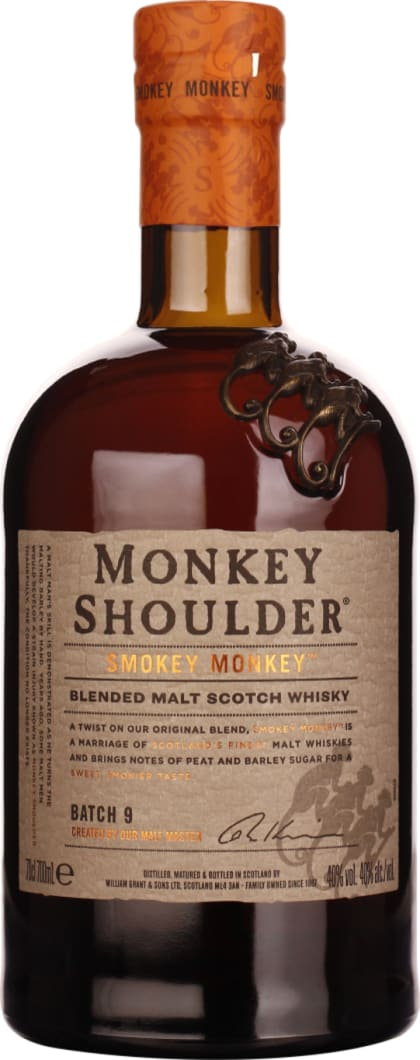 Monkey Shoulder Monkey Smokey 70CL - Aristo Spirits