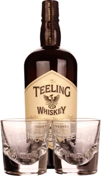 Teeling Small Batch 2018 Rum Cask Finish Giftset 70CL - Aristo Spirits