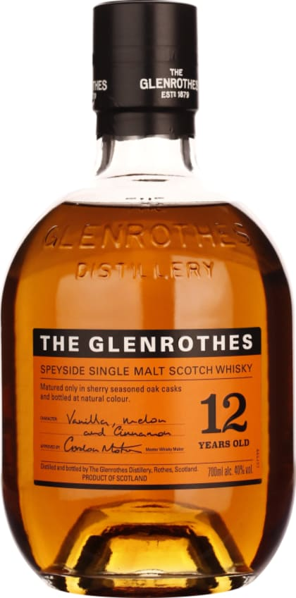 The Glenrothes Single Malt 12 years 70CL - Aristo Spirits