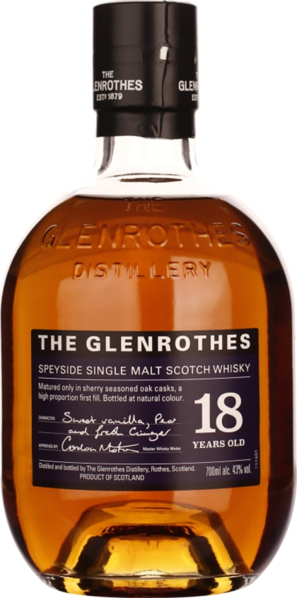 The Glenrothes Single Malt 18 years 70CL - Aristo Spirits