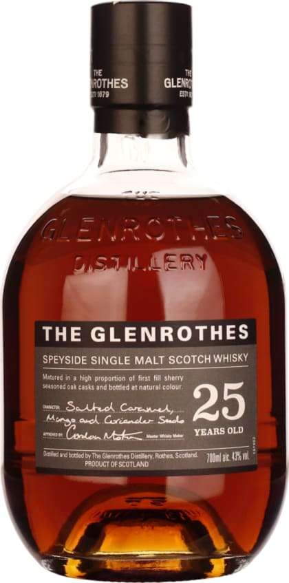 The Glenrothes Single Malt 25 years 70CL - Aristo Spirits