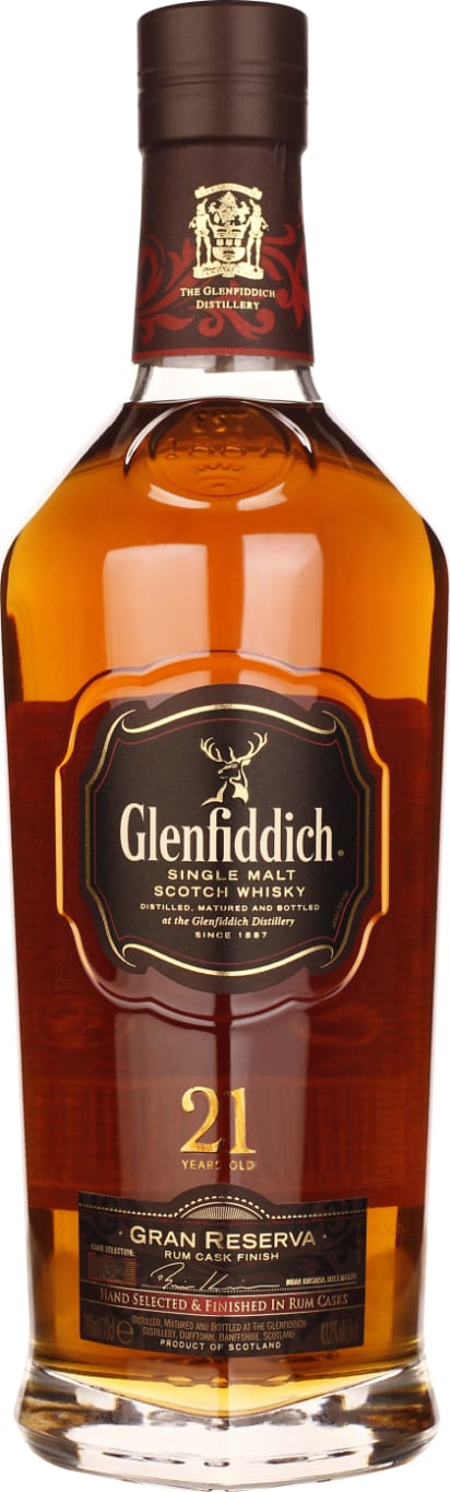 Glenfiddich 21 years Rum Cask Finish Single Malt 2013 70CL - Aristo Spirits