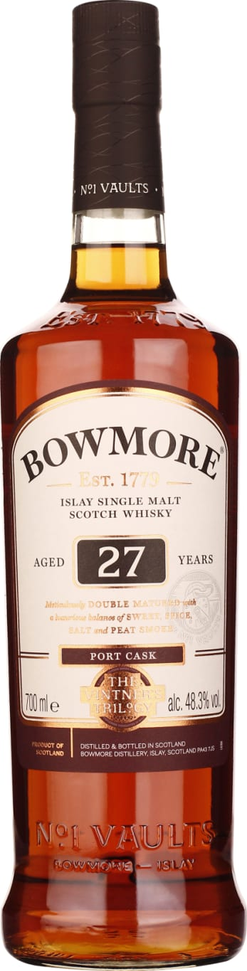 27 years Bowmore Single Malt Cask Port 70CL - Aristo Spirits