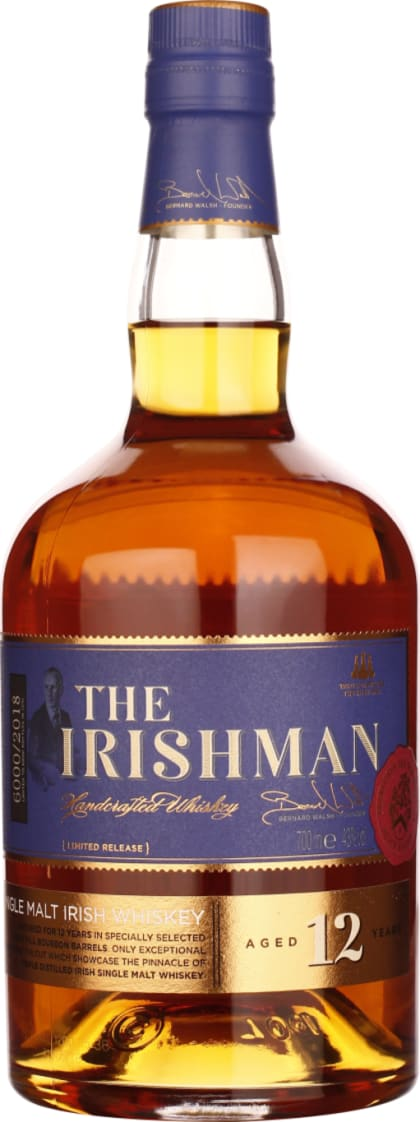 The Irishman Single Malt 12 years 70CL - Aristo Spirits