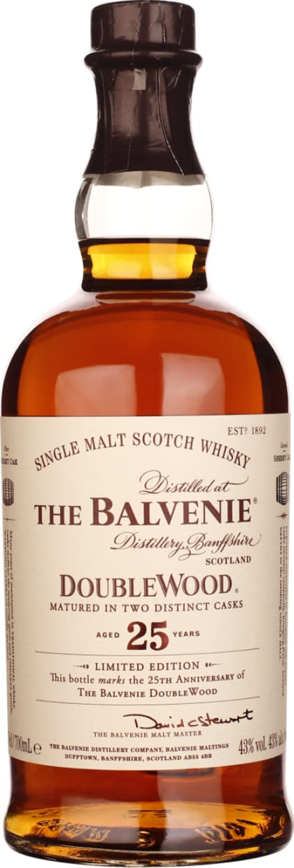 Balvenie Doublewood Single Malt 25 years 70CL - Aristo Spirits