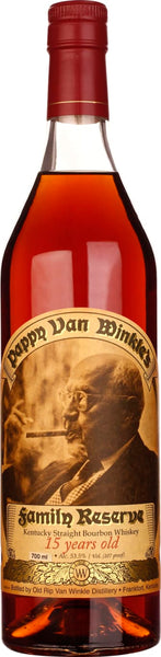 Pappy Van Winkle Family Reserve 15 years Bourbon 70CL - Aristo Spirits