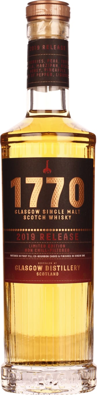 Glasgow 1770 Single Malt 50cl - Aristo Spirits