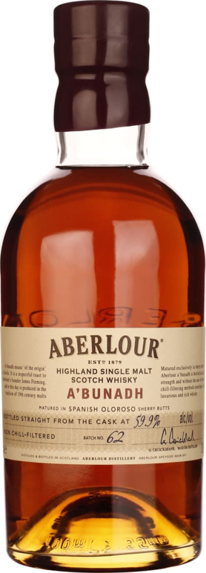 Aberlour A'Bunadh Batch 62 70CL - Aristo Spirits