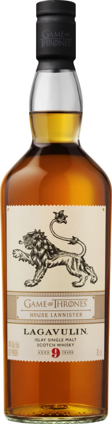 Lagavulin nine years House Lannister 70CL - Aristo Spirits