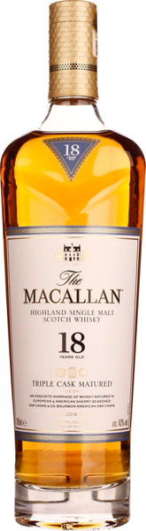 The Macallan Fine Oak 18 years Triple Cask 70CL - Aristo Spirits