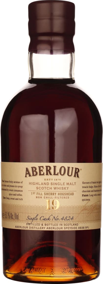 Aberlour 19 years Sherry Cask Single Malt 70CL - Aristo Spirits