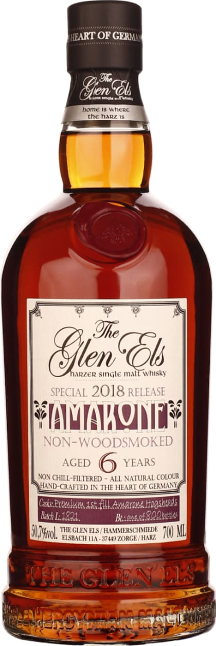 Glen Els six years Amarone Cask 2018 Special Release 70CL - Aristo Spirits