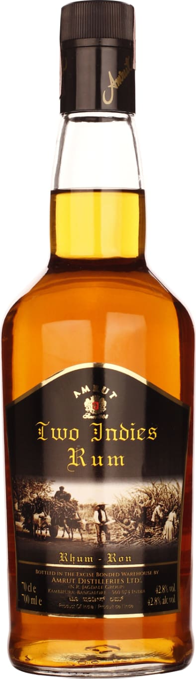 Amrut Two Indies Rum 70CL - Aristo Spirits