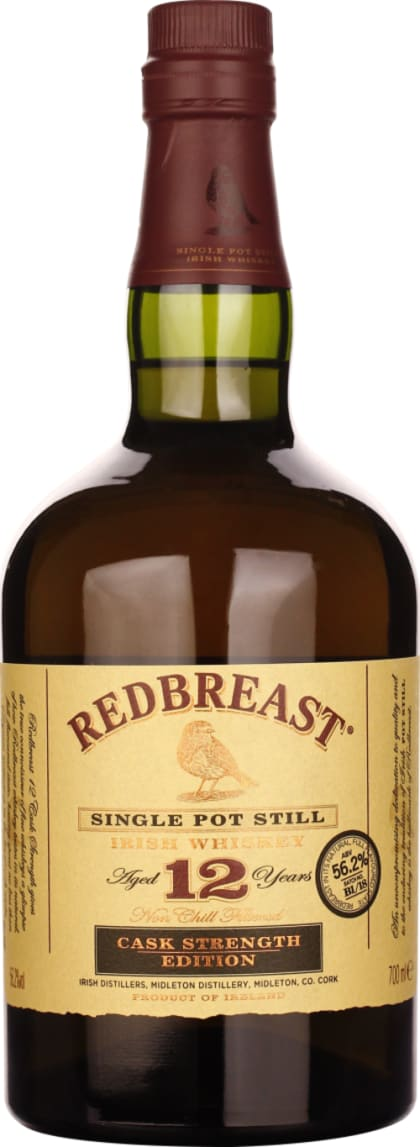 Redbreast 12 years Cask Strength Batch B1 / 18 70CL - Aristo Spirits