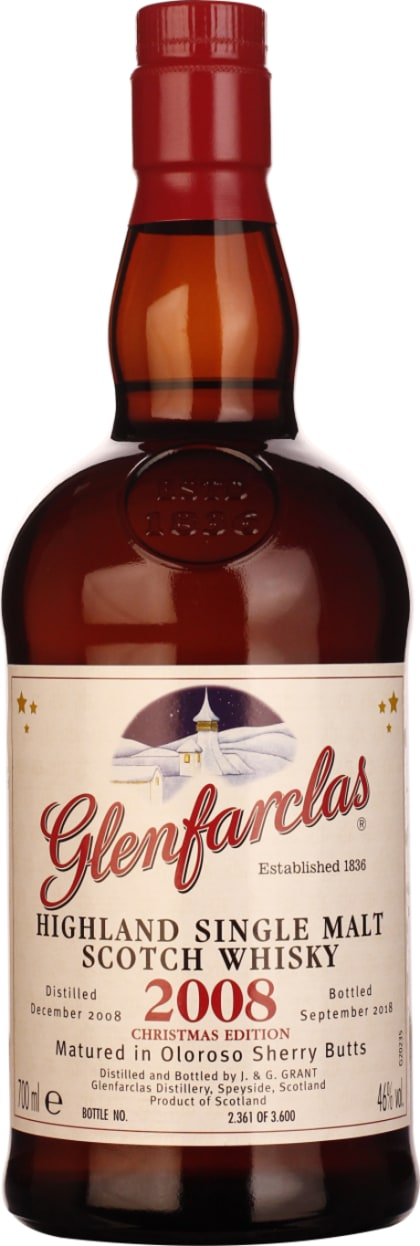 Glenfarclas Vintage 2008 Christmas Edition 70CL - Aristo Spirits