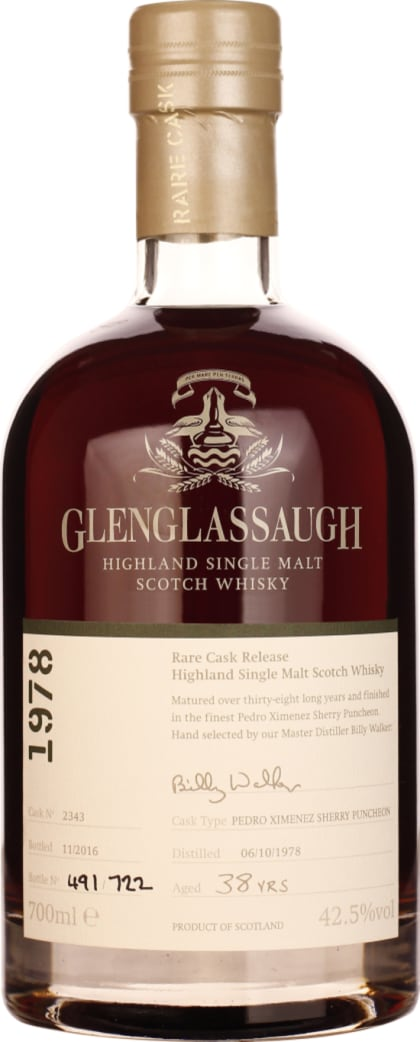 Glenglassaugh 38 years 1978 Single Malt 70CL - Aristo Spirits