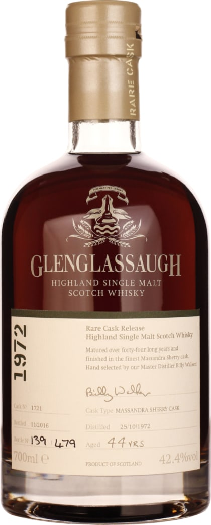 Glenglassaugh 44 years in 1972 Single Malt 70CL - Aristo Spirits
