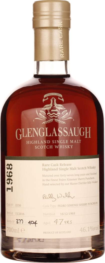 Glenglassaugh 47 years 1968 Single Malt 70CL - Aristo Spirits