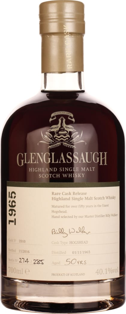 Glenglassaugh 50 years 1965 Single Malt 70CL - Aristo Spirits