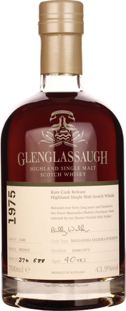 Glenglassaugh 40 years in 1975 Single Malt 70CL - Aristo Spirits