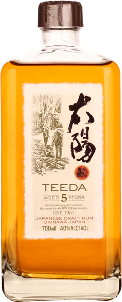 Teeda 5 years Japanese Craft rum 70CL - Aristo Spirits