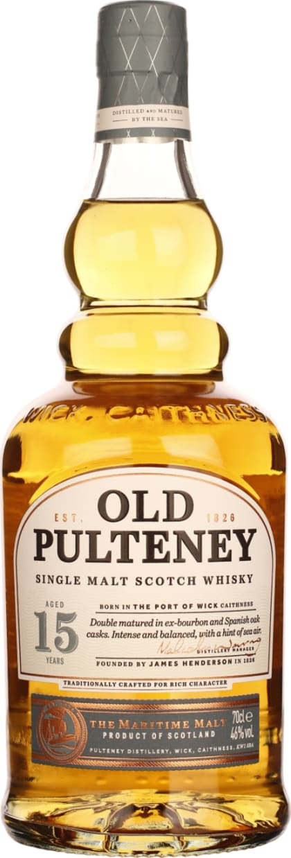 Old Pulteney Single Malt 15 years 70CL - Aristo Spirits