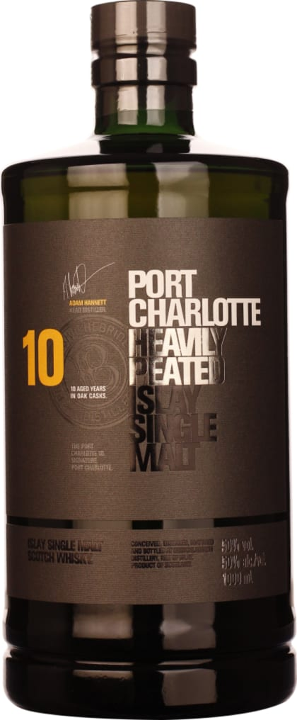 Port Charlotte 10 years Heavily Peated 1LTR - Aristo Spirits