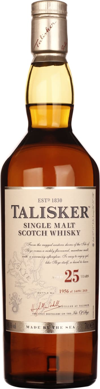 25 years Talisker Single Malt 2018 70CL - Aristo Spirits