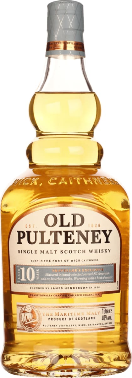 Old Pulteney Single Malt 10 years 1LTR - Aristo Spirits