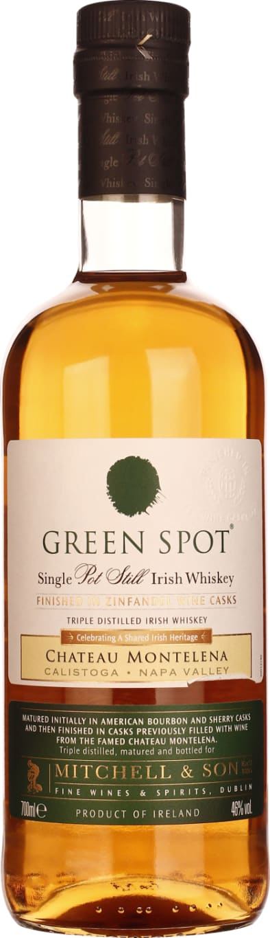 Mitchell & Son Green Spot Chateau Montelena Wine Cask 70CL - Aristo Spirits
