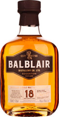 Balblair 18 years Single Malt 70CL - Aristo Spirits