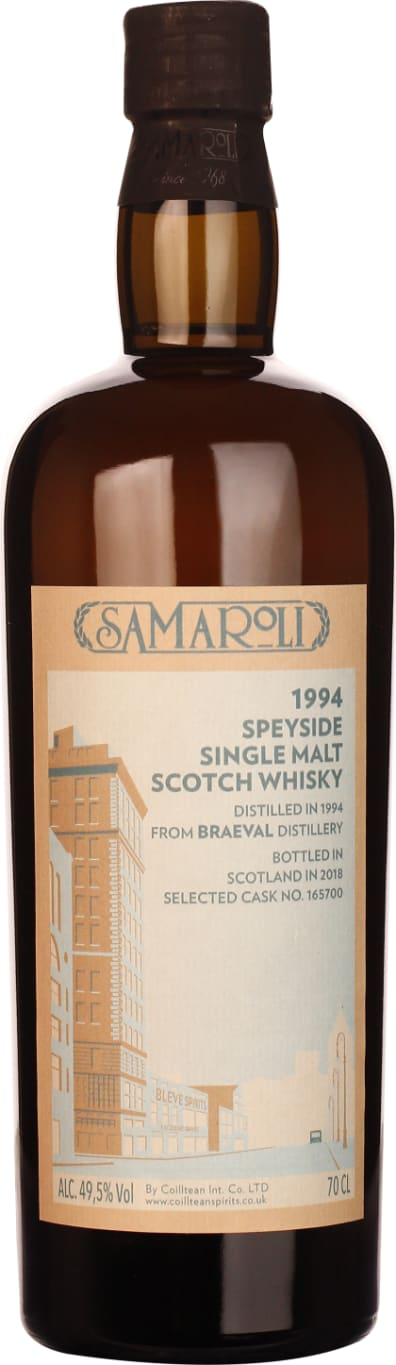 Samaroli Braeval 1994-2018 Single Malt 70CL - Aristo Spirits