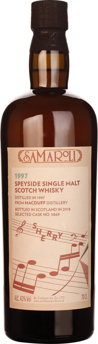 Samaroli Macduff Sherry Cask Single Malt 1997-2018 70CL - Aristo Spirits
