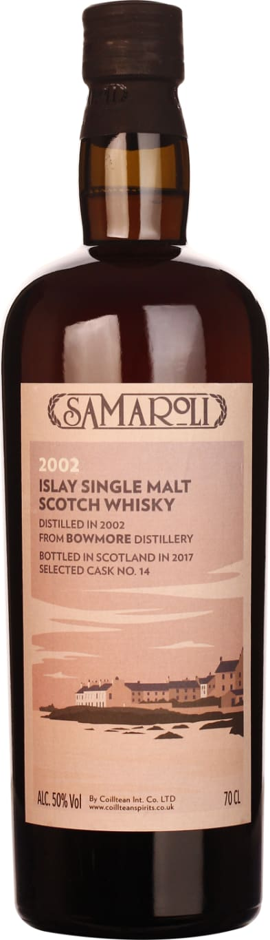 Samaroli 2002 Bowmore Single Malt 70CL - Aristo Spirits