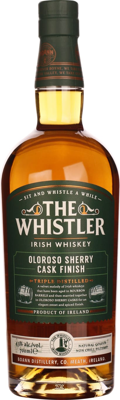 The Whistler Oloroso Sherry Cask 70CL - Aristo Spirits